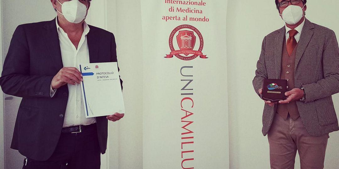 Importante protocollo d'intesa in via esclusiva tra #UILFPL e UniCamillus International Medical University.